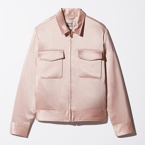Aritzia Jackets & Blazers - Little Moon Satin Bomber